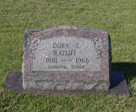 WHITE RATLIFF, DORA ELIZABETH - Lawrence County, Arkansas | DORA ELIZABETH WHITE RATLIFF - Arkansas Gravestone Photos