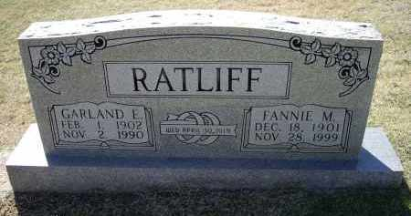 RATLIFF, FANNIE MAE - Lawrence County, Arkansas | FANNIE MAE RATLIFF - Arkansas Gravestone Photos
