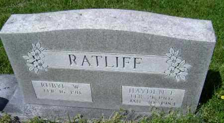 WYATT RATLIFF, RUBYE JESSIE - Lawrence County, Arkansas | RUBYE JESSIE WYATT RATLIFF - Arkansas Gravestone Photos