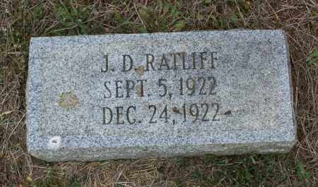 RATLIFF, J. D. - Lawrence County, Arkansas | J. D. RATLIFF - Arkansas Gravestone Photos