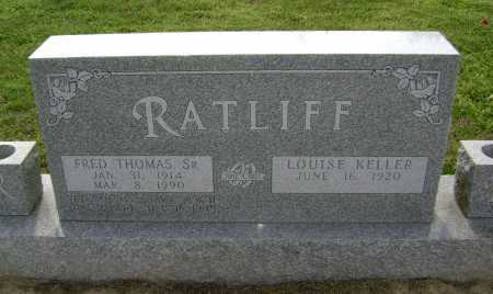 KELLER RATLIFF, LOUISE - Lawrence County, Arkansas | LOUISE KELLER RATLIFF - Arkansas Gravestone Photos