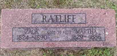 "RATLIFF, ZACHEOUS ""ZACK"" - Lawrence County, Arkansas 