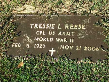 REESE (VETERAN WWII), TRESSIE LEONARD - Lawrence County, Arkansas | TRESSIE LEONARD REESE (VETERAN WWII) - Arkansas Gravestone Photos