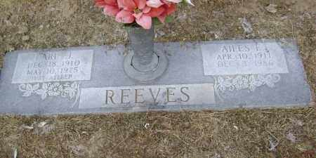 REEVES, AILES EMALINE - Lawrence County, Arkansas | AILES EMALINE REEVES - Arkansas Gravestone Photos