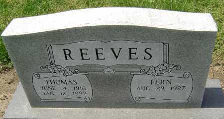 REEVES, THOMAS - Lawrence County, Arkansas | THOMAS REEVES - Arkansas Gravestone Photos