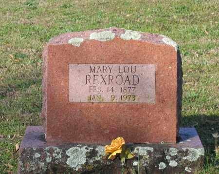 "HOLDER REXROAD, MARY LOUISE ""LOU"" - Lawrence County, Arkansas 
