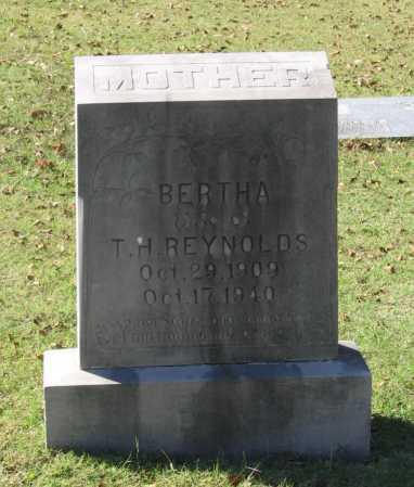 HELMS REYNOLDS, BERTHA ISABEL - Lawrence County, Arkansas | BERTHA ISABEL HELMS REYNOLDS - Arkansas Gravestone Photos
