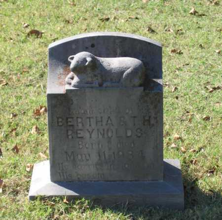 REYNOLDS, INFANT - Lawrence County, Arkansas | INFANT REYNOLDS - Arkansas Gravestone Photos