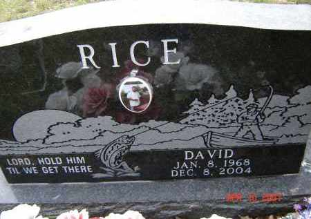 RICE, CLAUDE DAVID - Lawrence County, Arkansas | CLAUDE DAVID RICE - Arkansas Gravestone Photos