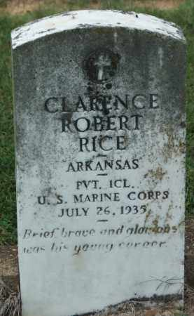 RICE (VETERAN), CLARENCE ROBERT - Lawrence County, Arkansas | CLARENCE ROBERT RICE (VETERAN) - Arkansas Gravestone Photos