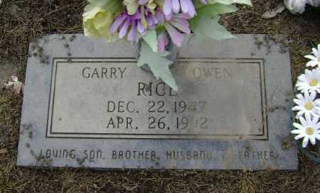 RICE, GARRY OWEN - Lawrence County, Arkansas | GARRY OWEN RICE - Arkansas Gravestone Photos