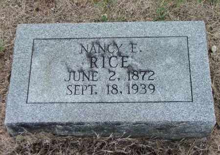 FRISBEE RICE, NANCY E. - Lawrence County, Arkansas | NANCY E. FRISBEE RICE - Arkansas Gravestone Photos