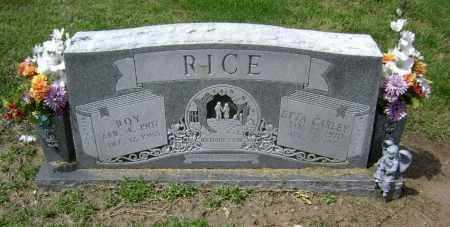 CARLEY RICE, ETTA - Lawrence County, Arkansas | ETTA CARLEY RICE - Arkansas Gravestone Photos