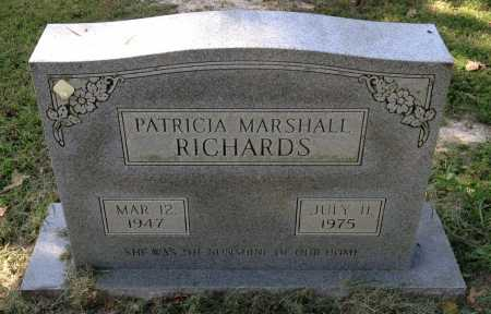 MARSHALL RICHARDS, PATRICIA - Lawrence County, Arkansas | PATRICIA MARSHALL RICHARDS - Arkansas Gravestone Photos