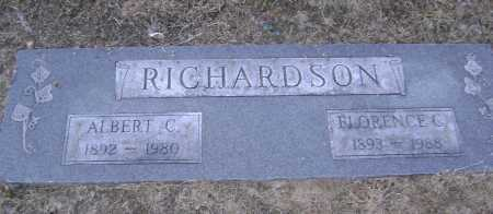 RICHARDSON, ALBERT C. - Lawrence County, Arkansas | ALBERT C. RICHARDSON - Arkansas Gravestone Photos