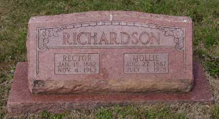 BARNETT RICHARDSON, MOLLIE - Lawrence County, Arkansas | MOLLIE BARNETT RICHARDSON - Arkansas Gravestone Photos