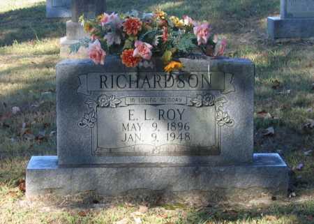 "RICHARDSON, ELMER L. ""ROY"" - Lawrence County, Arkansas 
