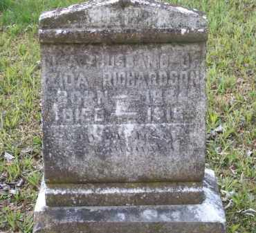 RICHARDSON, J. A. - Lawrence County, Arkansas | J. A. RICHARDSON - Arkansas Gravestone Photos