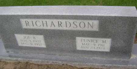 RICHARDSON, JOE B. - Lawrence County, Arkansas | JOE B. RICHARDSON - Arkansas Gravestone Photos