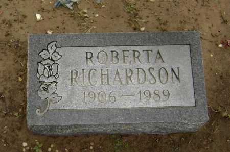 RICHARDSON, ROBERTA - Lawrence County, Arkansas | ROBERTA RICHARDSON - Arkansas Gravestone Photos