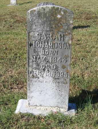 RICHARDSON, SARAH C. - Lawrence County, Arkansas | SARAH C. RICHARDSON - Arkansas Gravestone Photos