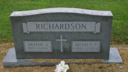 RICHARDSON, MILDRED PEARL - Lawrence County, Arkansas | MILDRED PEARL RICHARDSON - Arkansas Gravestone Photos