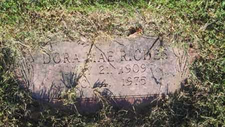 RICHES, DORA MAE - Lawrence County, Arkansas | DORA MAE RICHES - Arkansas Gravestone Photos