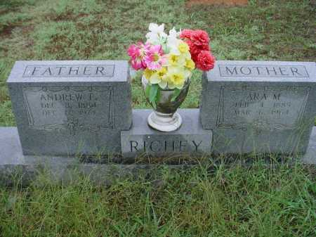 RICHEY, ANDREW FRANKLIN - Lawrence County, Arkansas | ANDREW FRANKLIN RICHEY - Arkansas Gravestone Photos