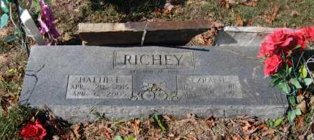 HILLENBURG RICHEY, HATTIE EMMALINE - Lawrence County, Arkansas | HATTIE EMMALINE HILLENBURG RICHEY - Arkansas Gravestone Photos