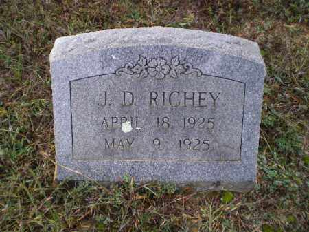 RICHEY, J. D. - Lawrence County, Arkansas | J. D. RICHEY - Arkansas Gravestone Photos