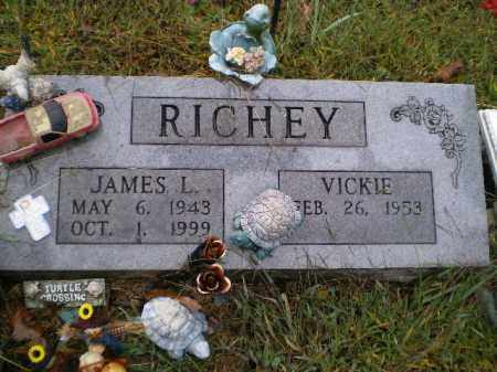 RICHEY, JAMES LOWELL - Lawrence County, Arkansas | JAMES LOWELL RICHEY - Arkansas Gravestone Photos