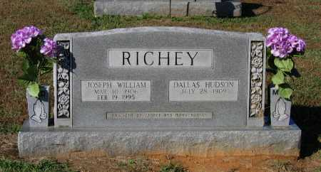 HUDSON RICHEY, DALLAS CLARATINE - Lawrence County, Arkansas | DALLAS CLARATINE HUDSON RICHEY - Arkansas Gravestone Photos