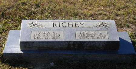 LAWSON RICHEY, VELA VIOLA - Lawrence County, Arkansas | VELA VIOLA LAWSON RICHEY - Arkansas Gravestone Photos