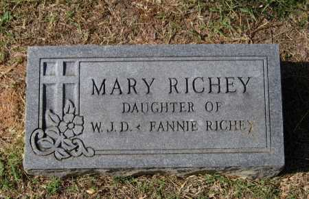 RICHEY, MARY E. - Lawrence County, Arkansas | MARY E. RICHEY - Arkansas Gravestone Photos