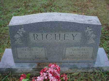 HILLBURN RICHEY, RUTH ELLEN RUTH - Lawrence County, Arkansas | RUTH ELLEN RUTH HILLBURN RICHEY - Arkansas Gravestone Photos