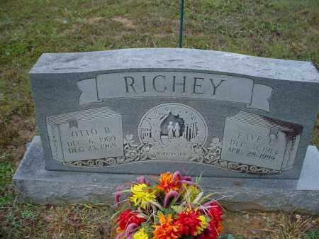 DAVIS RICHEY, ETTA FAYE - Lawrence County, Arkansas | ETTA FAYE DAVIS RICHEY - Arkansas Gravestone Photos
