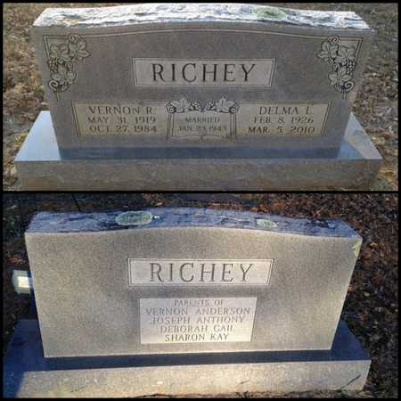 RICHEY, VERNON RUEL - Lawrence County, Arkansas | VERNON RUEL RICHEY - Arkansas Gravestone Photos