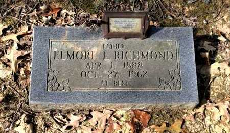 RICHMOND, ELMORE L. - Lawrence County, Arkansas | ELMORE L. RICHMOND - Arkansas Gravestone Photos