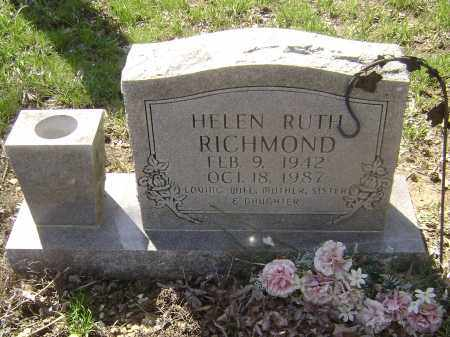 RICHMOND, HELEN RUTH - Lawrence County, Arkansas | HELEN RUTH RICHMOND - Arkansas Gravestone Photos