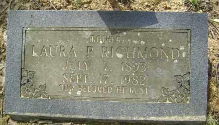 PINKSTON RICHMOND, LAURA - Lawrence County, Arkansas | LAURA PINKSTON RICHMOND - Arkansas Gravestone Photos