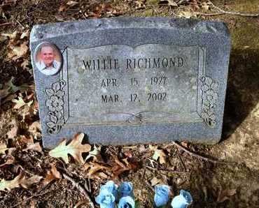 RICHMOND, WILLIE H. - Lawrence County, Arkansas   WILLIE H. RICHMOND - Arkansas Gravestone Photos
