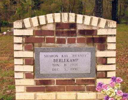 BERLEKAMP, SHARON KAY PICKNEY RICKTERKESSING - Lawrence County, Arkansas | SHARON KAY PICKNEY RICKTERKESSING BERLEKAMP - Arkansas Gravestone Photos