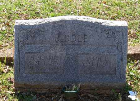 RIDDLE, JOHN MERIDITH MONROE - Lawrence County, Arkansas | JOHN MERIDITH MONROE RIDDLE - Arkansas Gravestone Photos