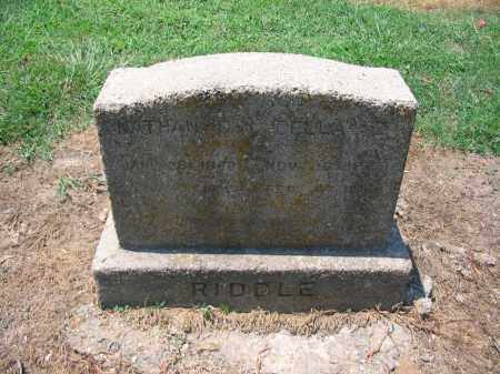 RIDDLE, NATHAN - Lawrence County, Arkansas | NATHAN RIDDLE - Arkansas Gravestone Photos