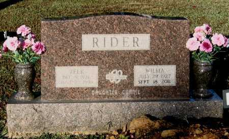 "RIDER, EZEKIEL ""ZEEK"" - Lawrence County, Arkansas 