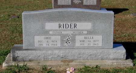 "RIDER, OBEDIAH FRANKLIN ""OBIE"" - Lawrence County, Arkansas 