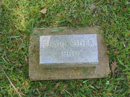 RIDER, PEARL - Lawrence County, Arkansas | PEARL RIDER - Arkansas Gravestone Photos