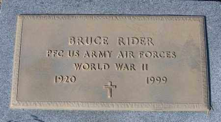 "RIDER (VETERAN WWII), BRUCE ""BILL"" - Lawrence County, Arkansas 
