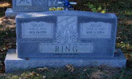 RING, PEGGY JEAN JOHNSON HUTSON - Lawrence County, Arkansas | PEGGY JEAN JOHNSON HUTSON RING - Arkansas Gravestone Photos