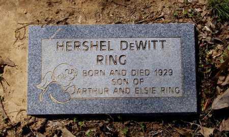 RING, HERSHEL DEWITT - Lawrence County, Arkansas | HERSHEL DEWITT RING - Arkansas Gravestone Photos